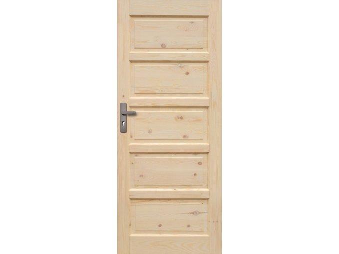 Interiérové dveře ILAWA Masiv - plné - 60 cm