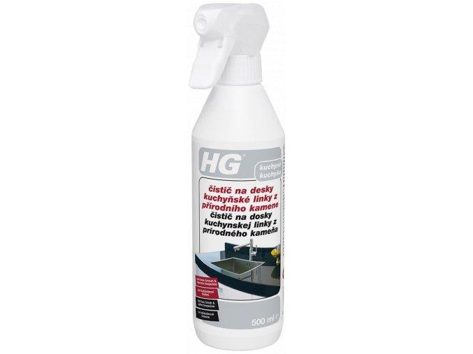 HG čistič na desky kuchyňské linky z přírodního kamene