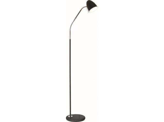 Stojací lampa SANDY L1819 - černá 1x E27