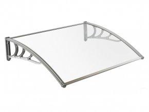 Gutta Modulo vchodová stříška 6 mm 75 x 120 cm čirá