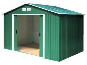 Zahradní domek na nářadí M.A.T - 244 x 193 cm / zelený