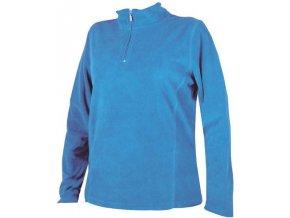 Pánská fleece mikina Jackie - Modrá