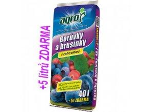 AGRO Substrát pro borůvky a brusinky 40 + 5 L ZDARMA