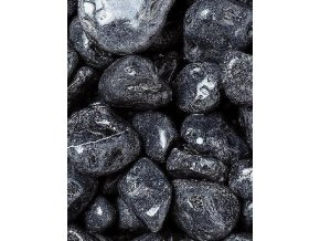 Mramor valoun ebenově černý 15 - 25 mm 25 kg / pytel