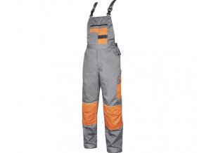 Kalhoty s laclem Ardon 2STRONG šedo-oranžové