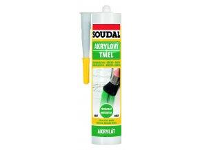 Soudal akrylový tmel bílý - 300 ml