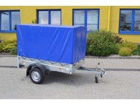 Přívěsný vozík HANDY 7 + plachta + konstrukce 1,33 m