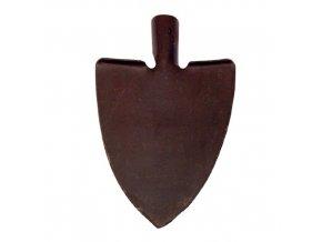 rýč špičatý kovaný se stupačkou