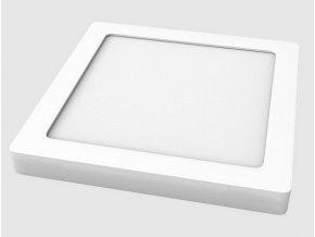 LED svítidlo TESLUX - hranaté - bílé - 3000K