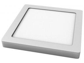 LED svítidlo TESLUX - hranaté - stříbrné - 3000K