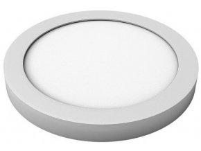 LED svítidlo TESLUX - kulaté - stříbrné - 3000K