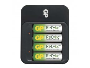 GP nabíječka baterií PB550 + 4AA ReCyko