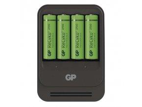 GP nabíječka baterií PB570 + 4AA GP ReCyko+ 2700