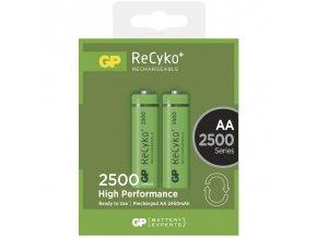 Nabíjecí baterie GP ReCyko+ 2500 HR6 (AA), krabička