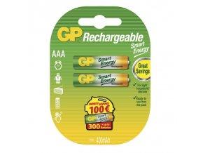 Nabíjecí baterie GP SmartEnergy HR03 (AAA), blistr