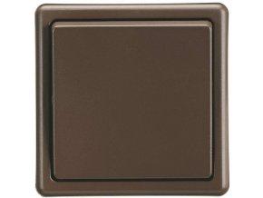 Vypínač CLASSIC, hnědý 3553-06289 H3