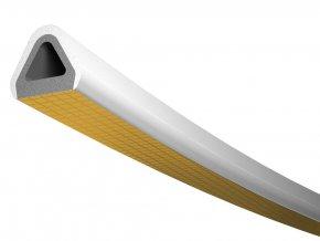 Samolepící TLT těsnění - D Profil - 6m - bílé