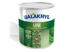 Balakryl Uni SATIN 0,7 kg - černá