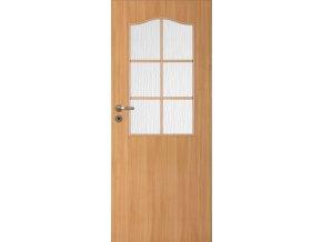 Interiérové dveře LACK 30s - Buk (orientace Levá, šířka křídla 60cm)