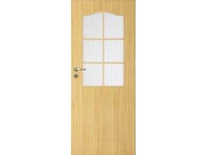 Interiérové dveře LACK 30s - Dub (orientace Levá, šířka křídla 60cm)