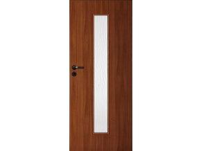 Interiérové dveře LACK 40 - Ořech (orientace Levá, šířka křídla 60cm)