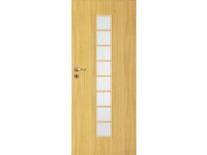 Interiérové dveře LACK 40s - Dub (orientace Levá, šířka křídla 60cm)