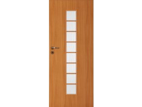 Interiérové dveře LACK 40s - Olše (orientace Levá, šířka křídla 60cm)