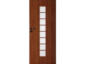 Interiérové dveře LACK 40s - Ořech (orientace Levá, šířka křídla 60cm)