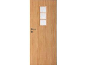 Interiérové dveře LACK 50s - Buk (orientace Levá, šířka křídla 60cm)
