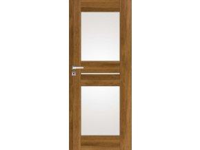 Interiérové dveře DINO 2 - Dub (orientace Levá, šířka křídla 60cm)
