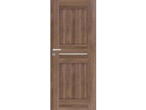 Interiérové dveře DINO - Ořech (orientace Levá, šířka křídla 60cm)