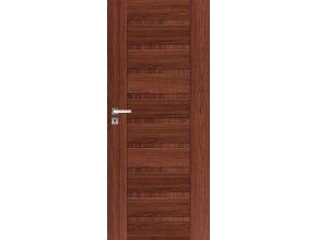 Interiérové dveře INGE - Ořech (orientace Levá, šířka křídla 60cm)