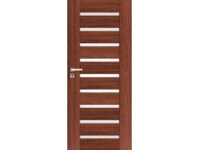 Interiérové dveře INGE 2 - Ořech (orientace Levá, šířka křídla 60cm)