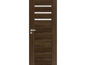 Interiérové dveře INGE 1 - Jilm (orientace Levá, šířka křídla 60cm)