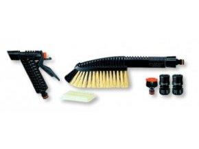 "8778 - sada spojek 1/2"", adaptér na kohoutek, náhradní šampony, pistole, kartáč"