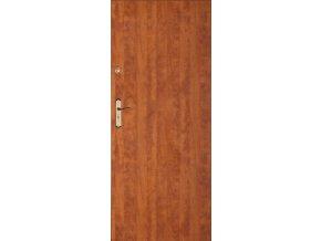 Bezpečnostní vchodové dveře do bytu - SOLID 0 (orientace Levá, šířka křídla 100cm)