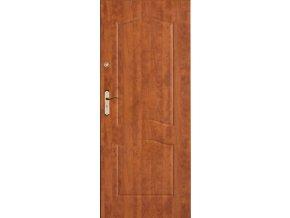 Bezpečnostní vchodové dveře do bytu - SOLID 1 (orientace Levá, šířka křídla 100cm)