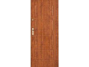 Bezpečnostní vchodové dveře do bytu - SOLID 2 (orientace Levá, šířka křídla 100cm)