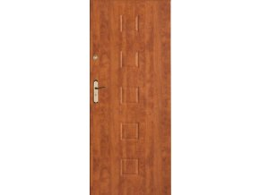 Bezpečnostní vchodové dveře do bytu - SOLID 3 (orientace Levá, šířka křídla 100cm)