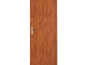 Bezpečnostní vchodové dveře do bytu - SOLID 3