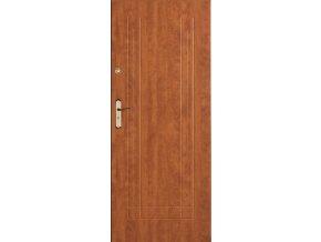Bezpečnostní vchodové dveře do bytu - SOLID 4 (orientace Levá, šířka křídla 100cm)