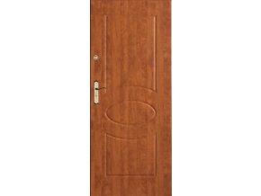 Bezpečnostní vchodové dveře do bytu - SOLID 5 (orientace Levá, šířka křídla 100cm)