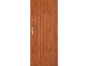 Bezpečnostní vchodové dveře do bytu - SOLID 6 (orientace Levá, šířka křídla 100cm)