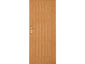 Bezpečnostní vchodové dveře do bytu - SOLID 9 (orientace Levá, šířka křídla 100cm)