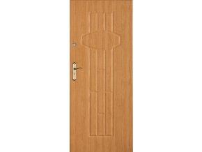 Bezpečnostní vchodové dveře do bytu - SOLID 11 (orientace Levá, šířka křídla 100cm)