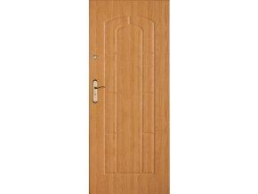 Bezpečnostní vchodové dveře do bytu - SOLID 12 (orientace Levá, šířka křídla 100cm)