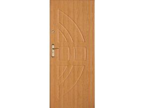 Bezpečnostní vchodové dveře do bytu - SOLID 13 (orientace Levá, šířka křídla 100cm)