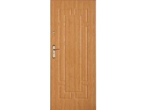 Bezpečnostní vchodové dveře do bytu - SOLID 14 (orientace Levá, šířka křídla 100cm)