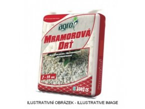 AGRO Mramorová drť 7-14 mm 30 kg