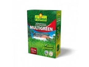 FLORIA Dlouhodobě působící trávníkové hnojivo Multigreen 2,5 kg